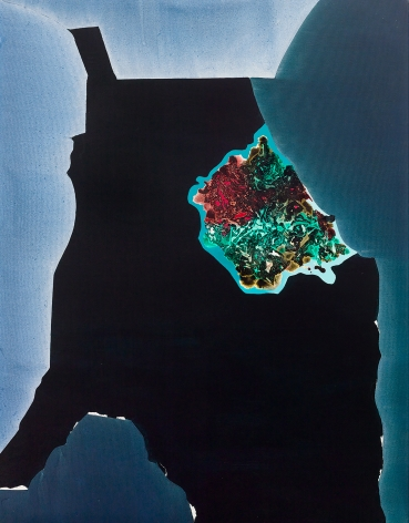 Dorothy Hood  Primal, 1988  oil on canvas  90 x 70 inches