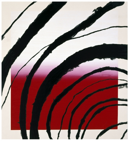 Julian Schnabel  Last Attempt at Attracting Butterflies II, 1995  10-color silkscreen print  56 x 51 inches  edition of 80  Publisher: Lococo FIne Art Publisher  $6,000