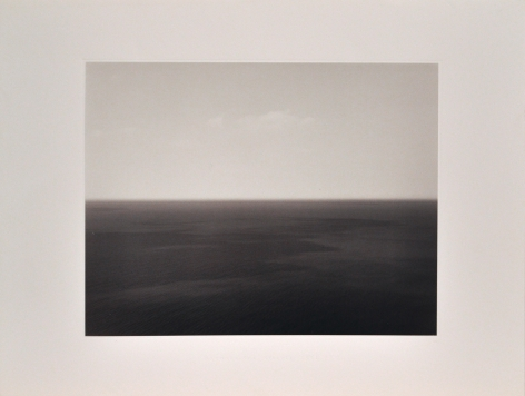 Hiroshi Sugimoto  Time Exposed [Marmara Sea Silivli 1991, 369],  1991  offset lithographs on laid paper with full  margins  18 1/4 x 13 7/8 inches  Edition of 500  blindstamped title, date and number  Private Collection