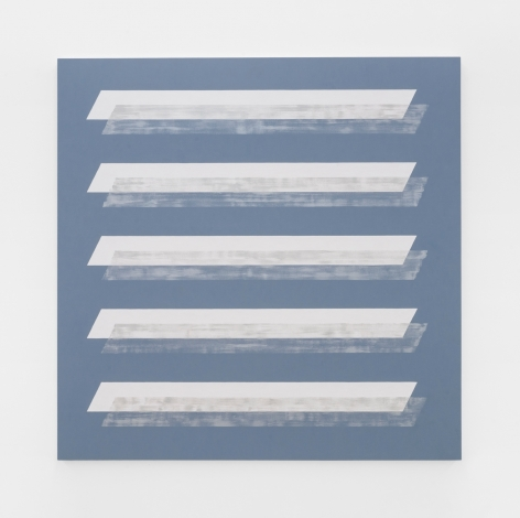 Edith Baumann Pattern Recognition #33, 2019 acrylic on canvas canvas: 69 x 69 inches