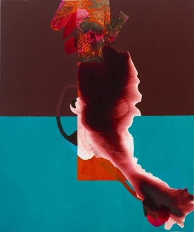Dorothy Hood  The Scream, 1985  oil on canvas  72 x 60 inches