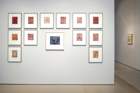 install view RECLINE Portraiture & Henri Matisse Prints January 26 - April 19, 2019