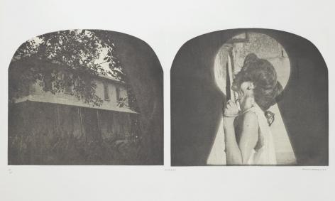 Tracey Moffatt  Laudanum 8, 1998  photogravure on rag paper   ed. 35/60  30 x 22 1/2 inches  $4,800