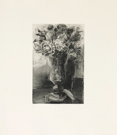 Karin Broker P.D.'s Dilemma (From Dark Talk Portfolio), 2003 photogravure    22 1/4 x 26 1/4 inches Edition of 12