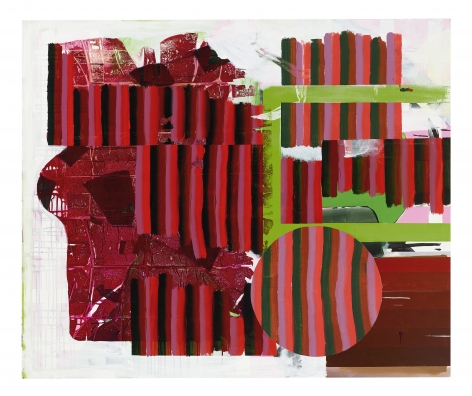 Shane Tolbert Untitled, 2021 acrylic on canvas 50 x 60 inches