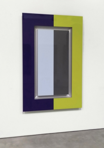 Christian Eckart,   Polychrome Painting  acrylic urethane on aluminum,  69 x 45 x 3 inches