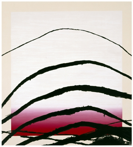 Julian Schnabel  Last Attempt at Attracting Butterflies IV, 1995  10-color silkscreen print  56 x 51 inches  edition of 80  Publisher: Lococo FIne Art Publisher  $6,000