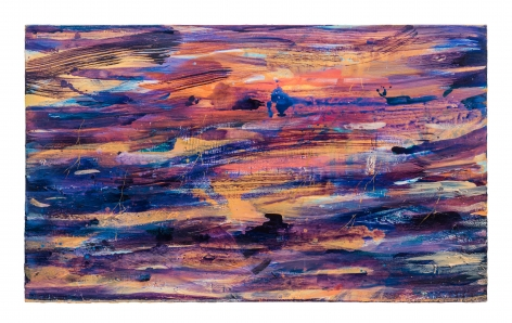 Brendan Cass  Plymouth, 2012  acrylic on canvas  45 x 69 inches  Inquire
