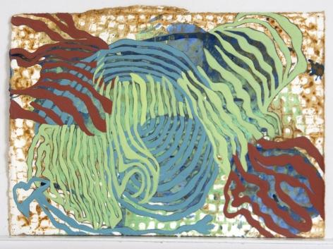 Mara Held  NG 6, 2013  egg tempera on paper  7 3/8 x 10 inches