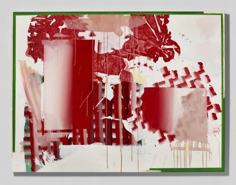 Shane Tolbert  Ponyboy, 2021  acrylic, oil on canvas  48 x 64 inches