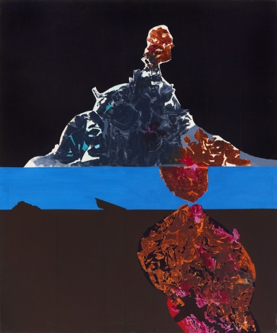 Dorothy Hood Untitled, 1980s oil on canvas  canvas: 72 x 60 inches frame: 73 x 60 7/8 inches