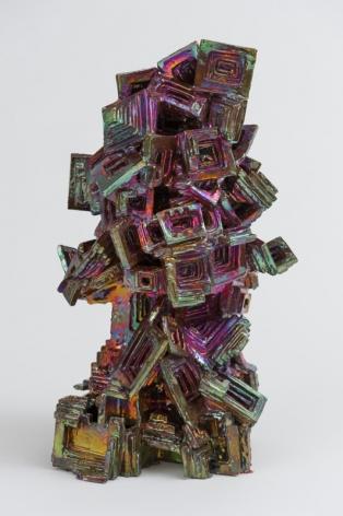 Julia Kunin  Bismuth Head, 2013  ceramic  19 x 12 x 10 inches
