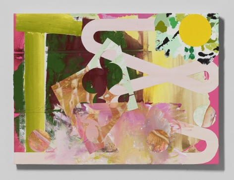 Shane Tolbert  Untitled, 2021  acrylic on canvas  30 x 41 inches
