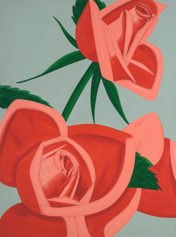 Alex Katz  Rose Bud, 2019  archival pigment inks on Crane Museo Max 365 gsm fine art paper  44 x 33 inches  Edition of 100  $9,500