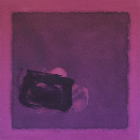 Cleve Gray,  Conjunction #199, 1976,  acrylic on canvas,  60 x 60 inches
