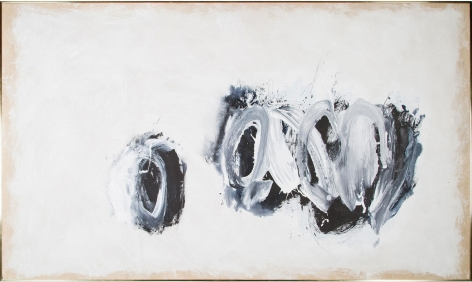 Cleve Gray,  Smash, 1978,  acrylic on canvas,  70 x 118 inches