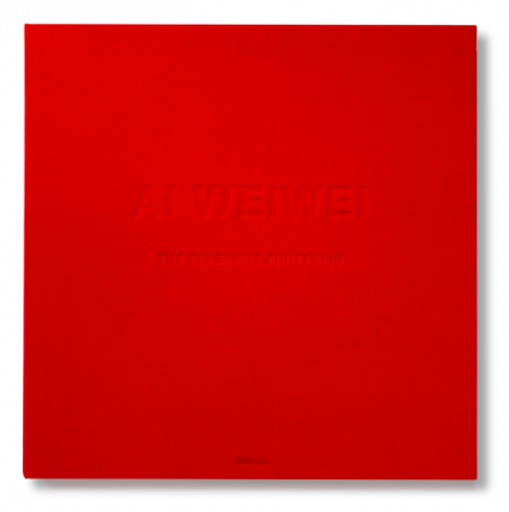 Ai Weiwei  The Papercut Portfolio, 2019  portfolio of 8 papercuts in clothbound clamshell box  23 5/8 x 23 5/8 inches  edition of 250  Publisher: Taschen