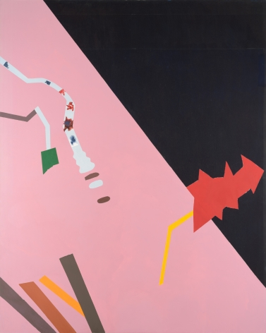 Dorothy Hood  Psychic Landscape II, 1985  oil on canvas  119 1/8 x 95 3/4 inches