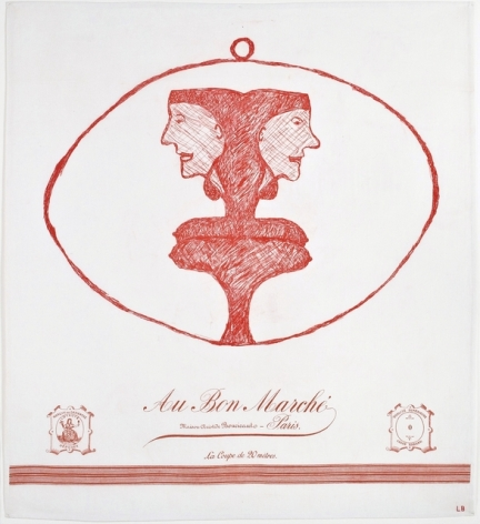 Louise Bourgeois Caryatid, 2001 lithograph on paper frame: 36 x 36 inches Edition of 10 signed bottom right in pencil (LoB-40)