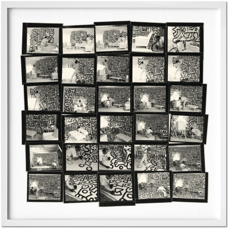 Art Edition (No. 1–1,000) Keith Haring (contact sheet), New York City, 1986 Archival pigment print 51 x 51 cm / 20 x 20 in.