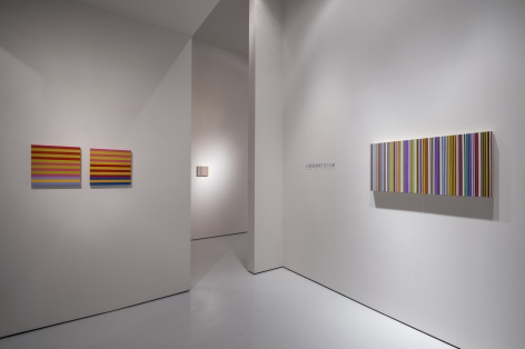 Installation view from Chromaticism at McClain gallery, 2013