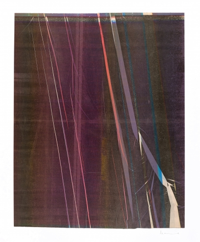 Anne Deleporte  Lightning, 2019  ink on paper mounted on Arches paper  26 1/8 x 21 1/2 inches  (AnD-49)  $8,000
