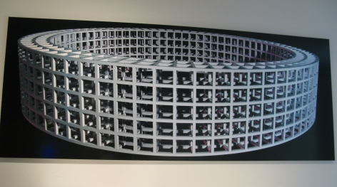 Christian Eckart  Untitled (Noumenon), 2011  permanent ink-jet print on metallized paper, mounted on dibond  24 x 60 inches  $9,000