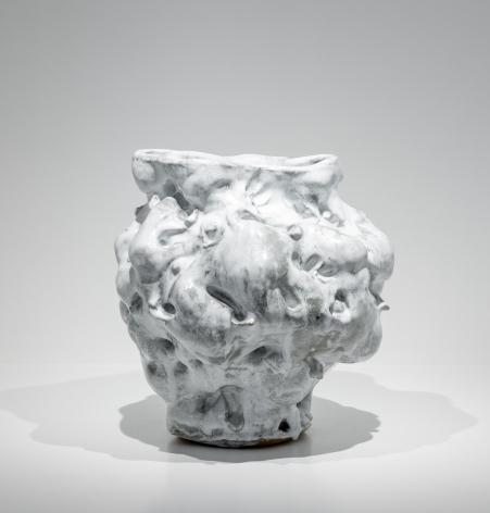Donna Green  Cumulus, 2018  stoneware, slip, and glazes  15 x 14 x 15 inches