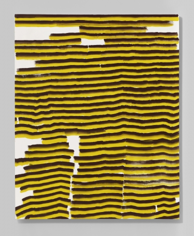 Shane Tolbert  Untitled, 2020  acrylic on canvas  56 1/4 x 45 inches