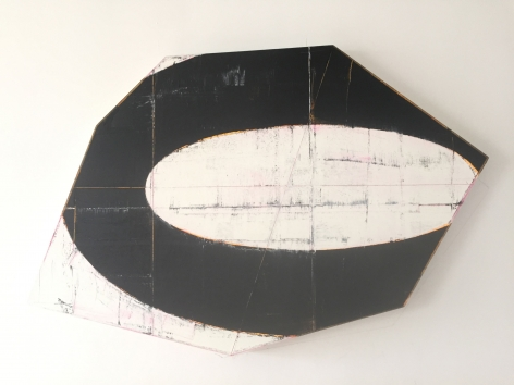 David Row Eclipse, 2014 oil on canvas 31 x 45 inches