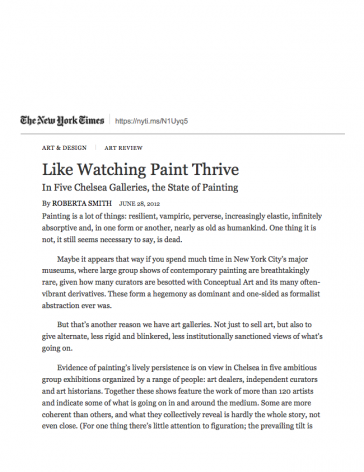 Like Watching Paint Thrive