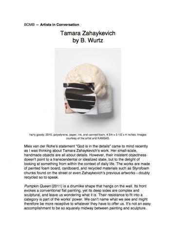 Tamara Zahaykevich by B. Wurtz