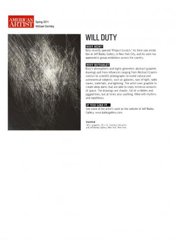 Will Duty