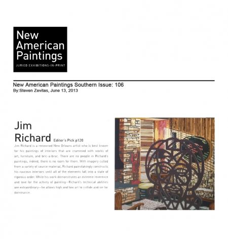 Editors Pick: Jim Richard