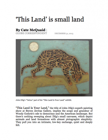 """This Land"" is small land"