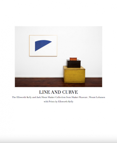 Line and Curve: The Ellsworth Kelly and Jack Shear Shaker Collection from Shaker Museum | Mount Lebanon with Prints by Ellsworth Kelly