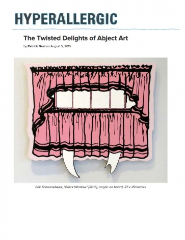 The Twisted Delights of Abject Art