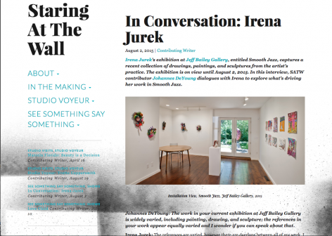 In Conversation with Irena Jurek