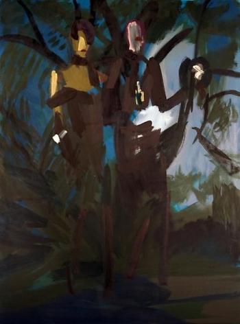 Bryn McConnellLanvin dark wood, 2008Oil on canvas48 x 36 inches (121.9 x 91.4 cm)
