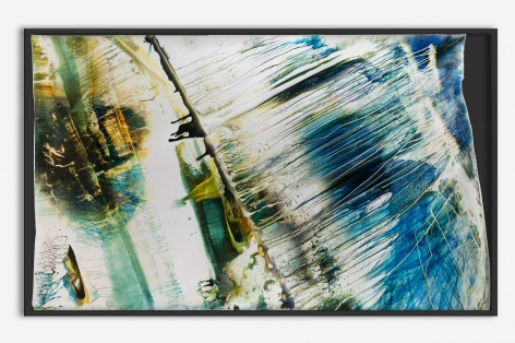 gestural abstract photo