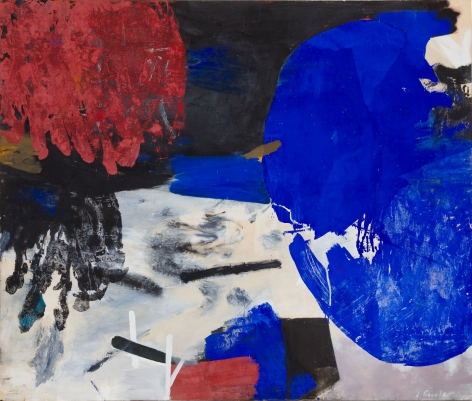 Sull, 1961 Oil on canvas