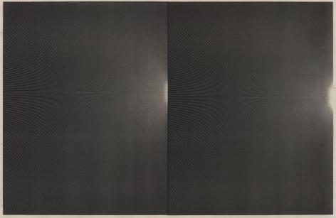 dark work on paper made with laser toner