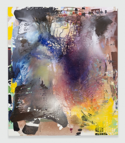 gestural abstract painting