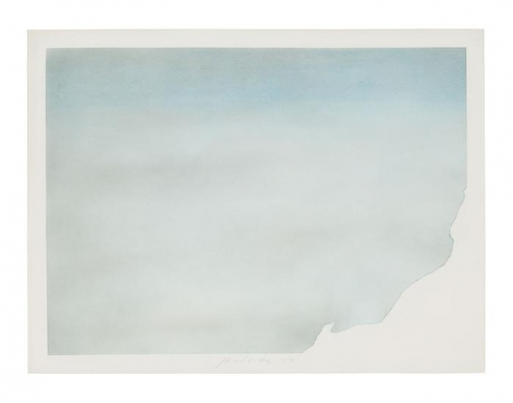 Untitled (Torn Cloud A), 1973, Pastel on paper, 30 x 40 inches (76.2 x 101.6 cm)