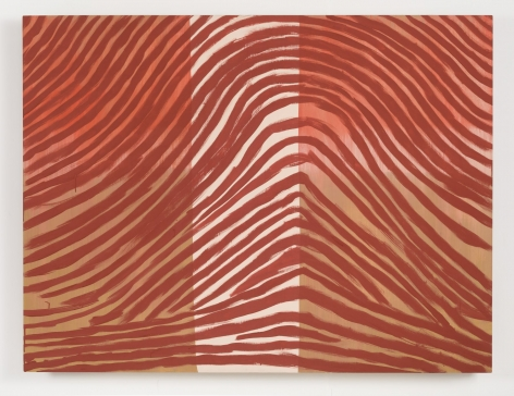 FINGERPRINT #2644,1988 Casein on wood