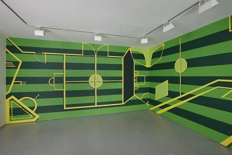 KR21, 2010Latex acrylic paint on wallDimensions variable