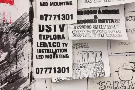 Zviziviso/Notice Board [detail],2018