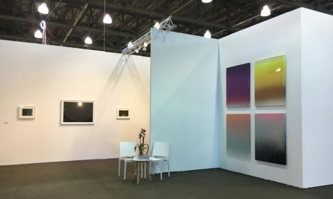 Booth installation view