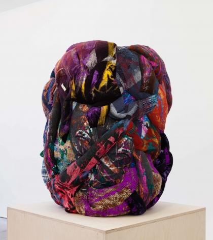 Bleed the Freak, 2012, Silkscreen on clothing and foam