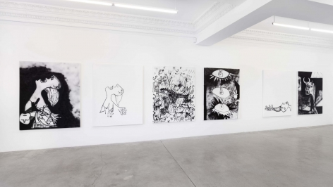 Gallery installation view,